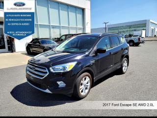 Used 2017 Ford Escape SE AWD**TOIT*GPS*CAMERA*BLUETOOTH*A/C** for sale in Victoriaville, QC