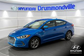 Used 2018 Hyundai Elantra GL + GARANTIE + MAGS + CAMERA + CARPLAY for sale in Drummondville, QC