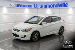 Used 2015 Hyundai Accent LE + GARANTIE + AUTOMATIQUE + A/C !! for sale in Drummondville, QC