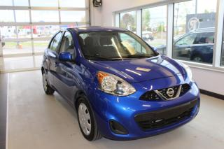 Used 2016 Nissan Micra CECI EST UN 2017  SV  MAIN LIBRE CELLULA for sale in Lévis, QC