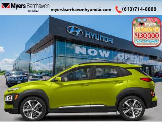 New 2020 Hyundai KONA 1.6T Ultimate AWD w/Lime Colour Pack  - $200 B/W for sale in Nepean, ON