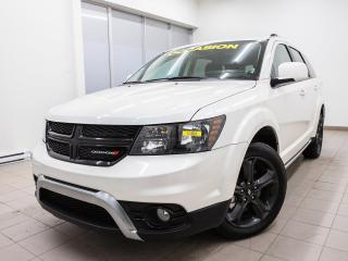 Used 2019 Dodge Journey CROSSROAD AWD 7 PLACES CUIR NAV TOIT OUVRANT *DVD* for sale in Mirabel, QC