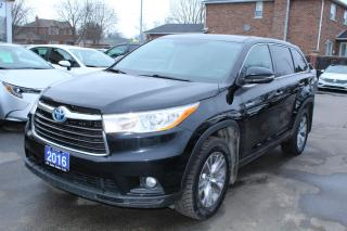 Used 2016 Toyota Highlander Hybrid LE Hybrid for sale in Brampton, ON