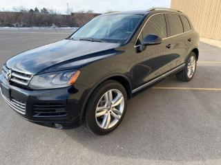 Used 2012 Volkswagen Touareg Diesel SUV ONE OWNER, 4dr TOUAREG AWD TDI for sale in Brampton, ON