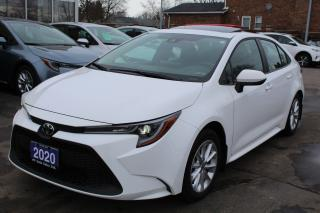 Used 2020 Toyota Corolla LE SUNROOF for sale in Brampton, ON