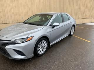 Used 2019 Toyota Camry CAMRY SE LEATHER HTD SEATS ADAPTIVE CRUISE LOADED for sale in Brampton, ON