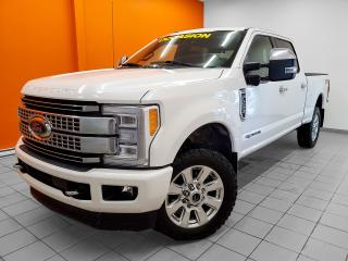 Used 2017 Ford F-250 PLATINUM CREW TURBO DIESEL TOIT PANO *POWERSTROKE* for sale in Mirabel, QC