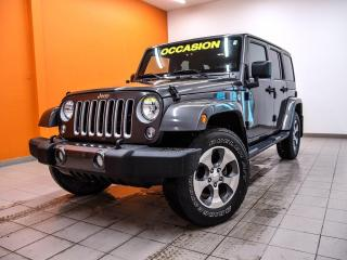 Used 2017 Jeep Wrangler SAHARA 4X4 HITCH ÉCRAN TACTILE NAVIGATION *BAS KM* for sale in Mirabel, QC