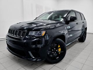 Used 2018 Jeep Grand Cherokee TRACKHAWK TOIT PANO MAGS 20 PO *6.2L SUPERCHARGED* for sale in Mirabel, QC
