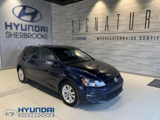 Used 2015 Volkswagen Golf COMFORTLINE TSI+CUIR+CAMERA+BANCS CHAUFF for sale in Sherbrooke, QC