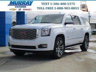 New 2020 GMC Yukon XL Denali/ HEATED/COOLED LEATHER/ REMOTE START/ DVD/ for sale in Estevan, SK