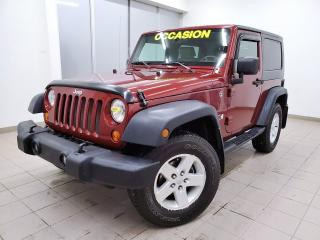 Used 2008 Jeep Wrangler X 4X4 RÉGULATEUR DE VITESSE *ATTACHE REMORQUE* for sale in Mirabel, QC