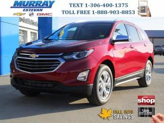New 2020 Chevrolet Equinox Premier AWD / HEATED LEATHER / REMOTE START / WIFI for sale in Estevan, SK