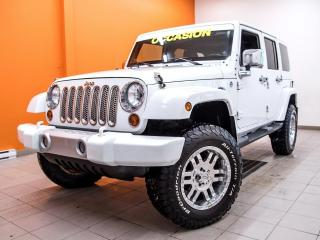 Used 2011 Jeep Wrangler SAHARA 4X4 *BLUETOOTH* A/C *ATTACHE-REMORQUE PROMO for sale in Mirabel, QC