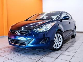 Used 2013 Hyundai Elantra BLUETOOTH SIÈGES CHAUFFANTS *BAS KILOMÉTRAGE* for sale in Mirabel, QC