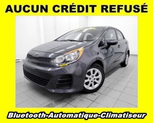 Used 2016 Kia Rio AUTOMATIQUE BLUETOOTH CLIMATISEUR *100% APPROUVÉ* for sale in Mirabel, QC