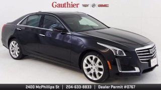 New 2019 Cadillac CTS Sedan Premium Luxury AWD for sale in Winnipeg, MB