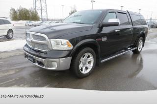 Used 2015 RAM 1500 4WD Crew Cab Laramie Longhorn cuir toit navigation for sale in St-Rémi, QC