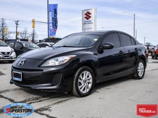 Used 2013 Mazda MAZDA3 GS ~Heated Seats ~Air Conditioning ~Alloy Wheels for sale in Barrie, ON