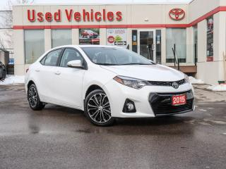 Used 2015 Toyota Corolla UPGRADE | ALLOY | GPS | LEATHER | SUNROOF | H SEAT for sale in North York, ON