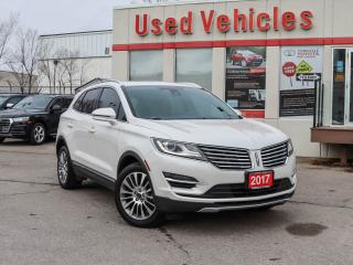 Used 2017 Lincoln MKC Reserve AWD | LEATHER | SUNROOF | NAV | R STARTER for sale in North York, ON