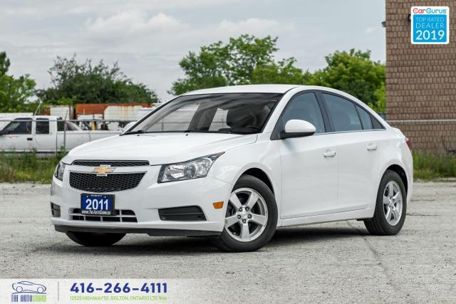 2011 Chevrolet Cruze LT Turbo|1SB|Low KM|Keyless Entry|Alloys|Cruise