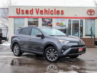 Used 2017 Toyota RAV4 AWD | 1 OWNER | LEATHER | SUNROOF | ALLOYS | NAV for sale in North York, ON