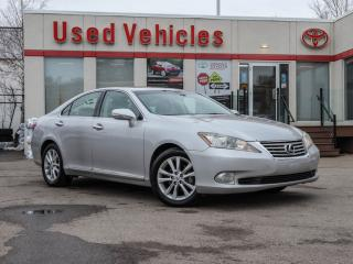 Used 2010 Lexus ES 350 LEATHER | ALLOY | SUNROOF | HEAT/MEMORY SEATS | CD for sale in North York, ON