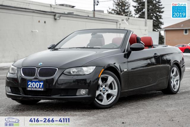 2007 BMW 3 Series 328i|Hard Top Convertible|Red Leather|Alloys