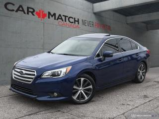 Used 2015 Subaru Legacy 2.5i LIMITED / NO ACCIDENTS for sale in Cambridge, ON