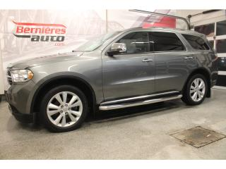 Used 2013 Dodge Durango CREW PLUS AWD 7 PASSAGERS for sale in Lévis, QC