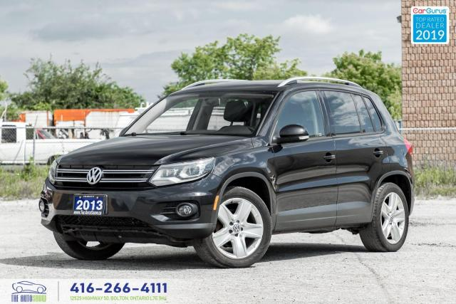 2013 Volkswagen Tiguan Highline|2.0 TSI|Leather|Pano. Roof|Keyless|AWD