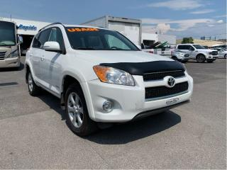 Used 2012 Toyota RAV4 4WD 4dr I4 Limited,cuir,toit for sale in Lévis, QC