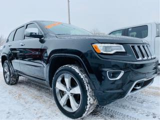 Used 2016 Jeep Grand Cherokee 4WD 4dr Overland for sale in Lévis, QC