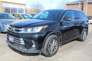 Used 2017 Toyota Highlander Hybrid XLE Hybrid for sale in Brampton, ON