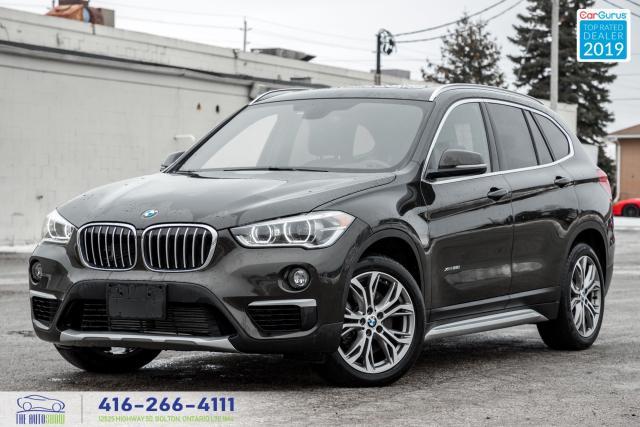 2016 BMW X1 xDrive28i|AWD|Leather|Navi|Backup Camer|Pano. Roof
