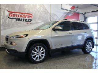 Used 2015 Jeep Cherokee LIMITED 4X4 V6 for sale in Lévis, QC