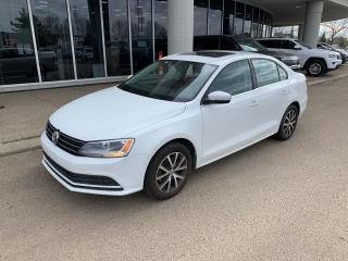 Used 2016 Volkswagen Jetta Sedan 3 MTHS NO PYMT COMFORTLINE SUNROOF BACKUP CAM HEATED SEATS for sale in Edmonton, AB