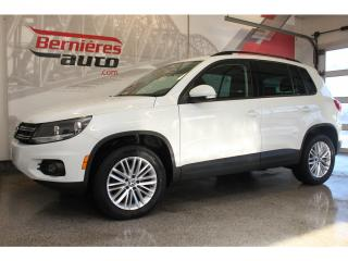 Used 2016 Volkswagen Tiguan SPECIAL EDITION 2.0 TSI 4MOTION+ TOIT PANO+ GPS for sale in Lévis, QC