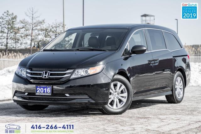 2016 Honda Odyssey SE|Leather|Keyless|Backup Cam|8 Pass.|Clean Carfax