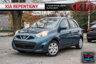 Used 2017 Nissan Micra 4DR HB AUTO S for sale in Repentigny, QC