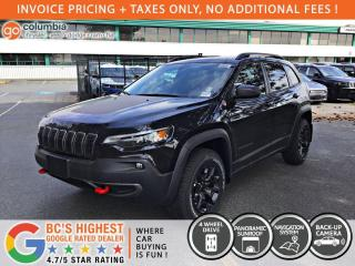 New 2020 Jeep Cherokee Trailhawk for sale in Richmond, BC