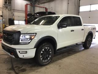 New 2020 Nissan Titan PRO-4X 4x4 Crew Cab 139.8 in. WB for sale in Edmonton, AB
