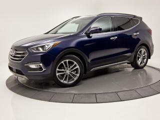 Used 2017 Hyundai Santa Fe Sport ULTIMATE AWD ANGLE MORT CAMERA TOIT PANO for sale in Brossard, QC