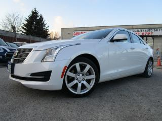 Used 2015 Cadillac ATS 2.5L-LEATHER-HEATED-BLUETOOTH-LOW KM for sale in Scarborough, ON
