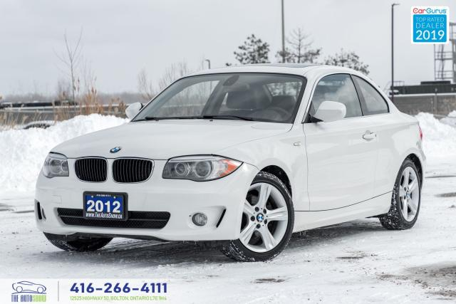 2012 BMW 1 Series 128i|Leather|1 Owner|Keyless Entry|Alloys|Htd Seat