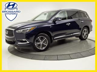 Used 2017 Infiniti QX60 AWD, NAVIGATION, TOIT OUVRANT, CAM DE RECUL/360 for sale in Brossard, QC