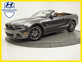 Used 2014 Ford Mustang CONVERTIBLE V8 5.0L TRACK PACK BREMBO V8 CUIR for sale in Brossard, QC