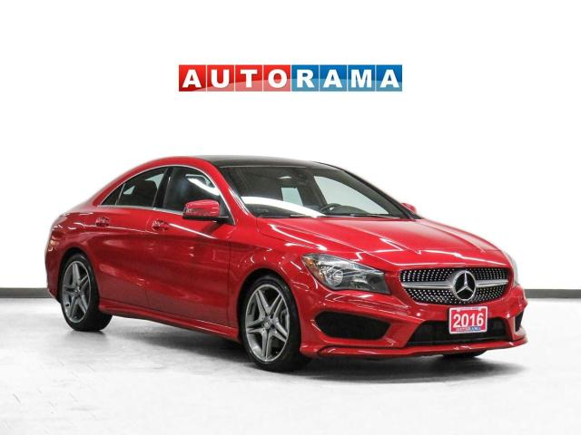 2016 Mercedes-Benz CLA250 AMG Pkg AWD Navigation Leather Pano-Roof