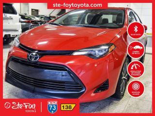 Used 2017 Toyota Corolla LE GR AMÉLIORÉ *AC,TOIT OUVRANT,SIEGES CHAUFFANTS* for sale in Québec, QC